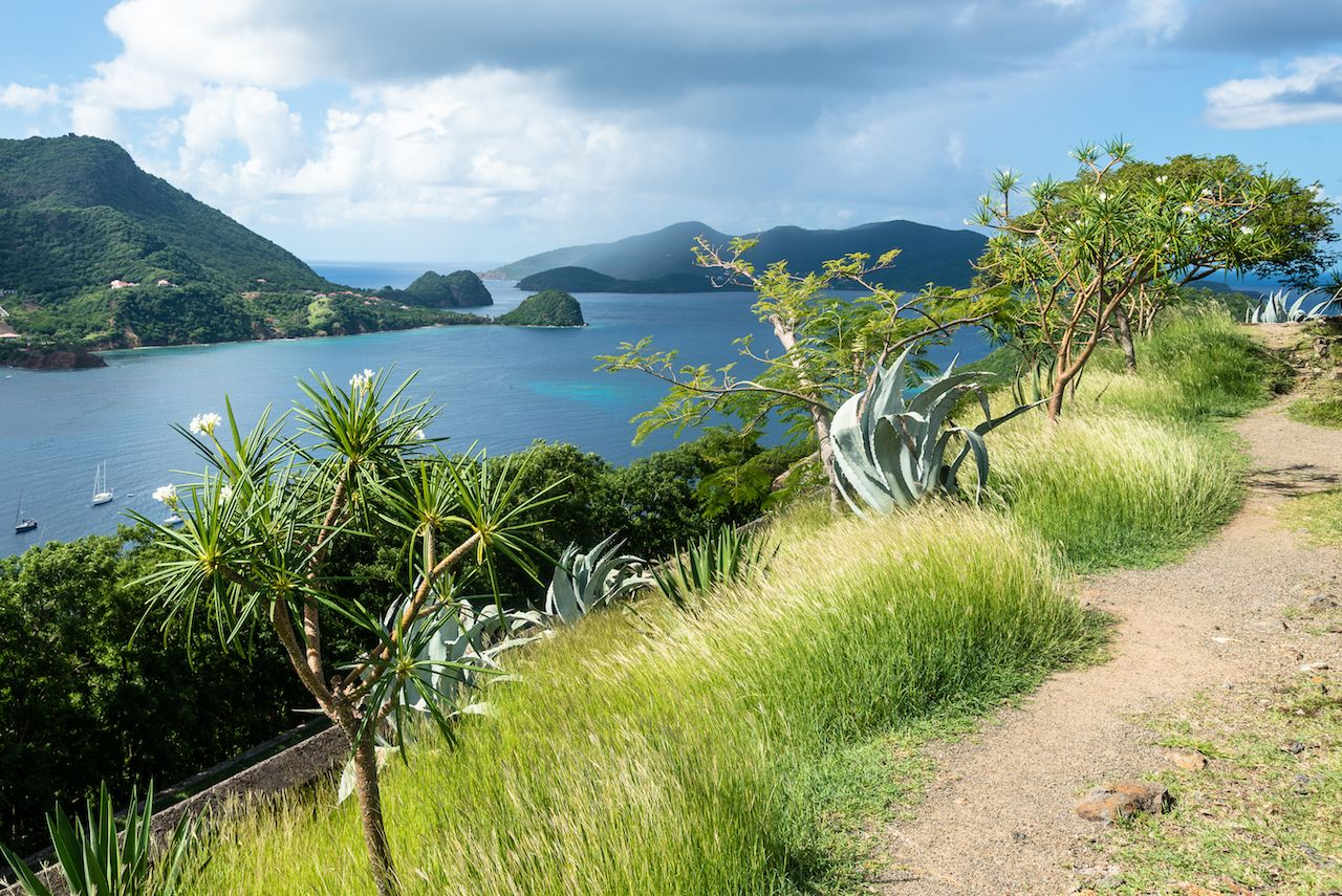 Scenic view of Guadeloupe