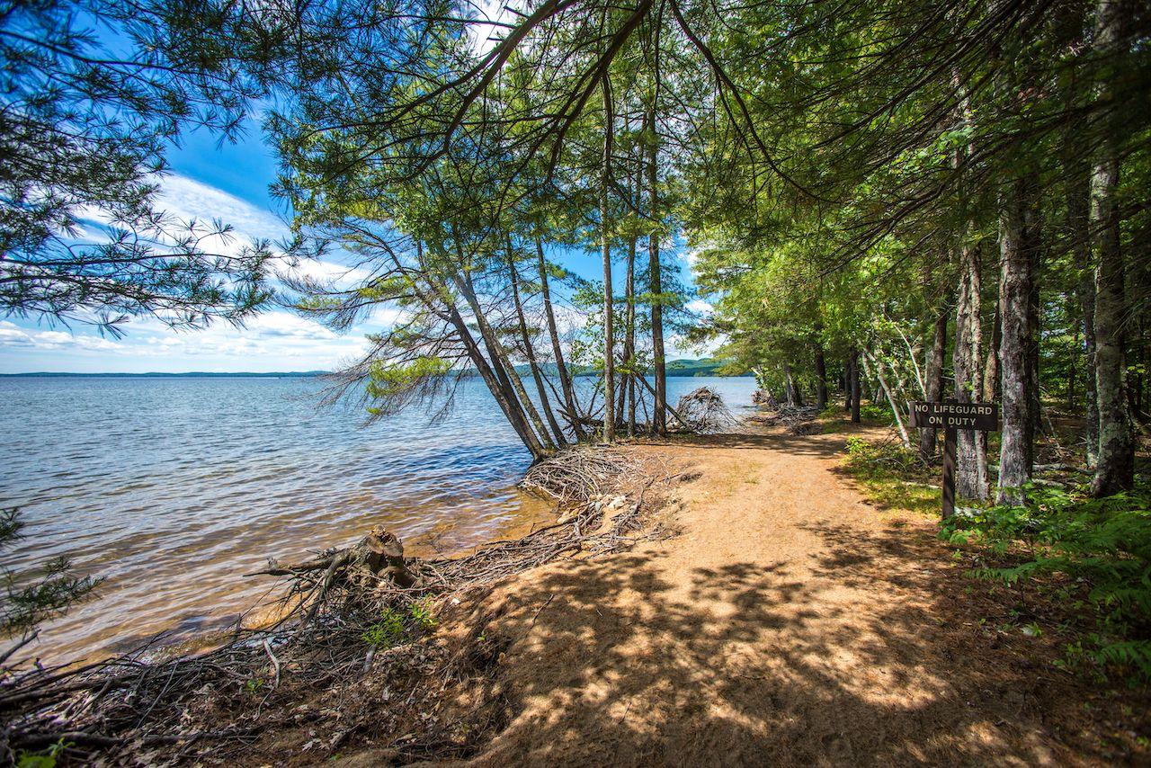 Sebago Lake State Park, Maine