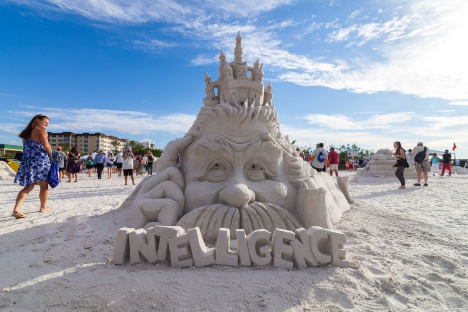 Shayne Wolfe Sandsculpting The Beaches of Fort Myers and Sanibel Florida
