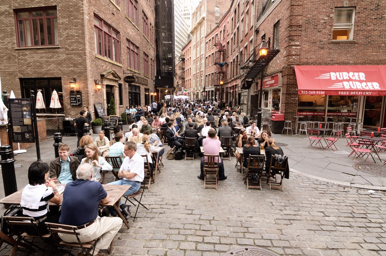 Stone Street in New York