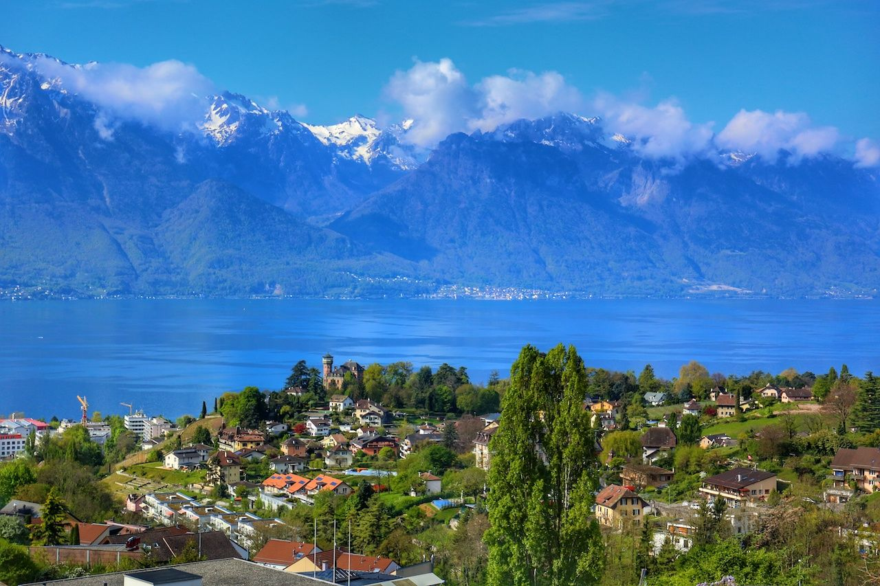 Swiss Riviera Montreux, Lake Geneva