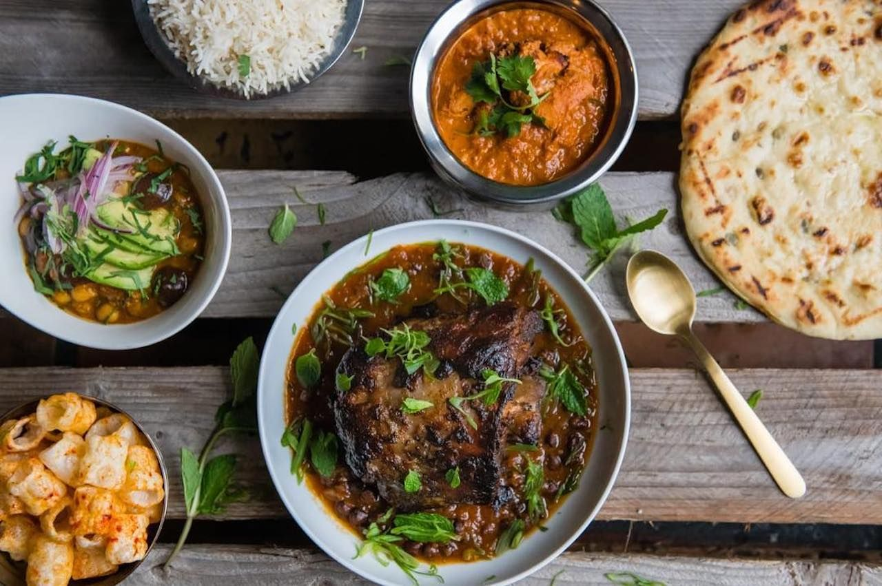 Modern Indian food movement in the US and best Indian