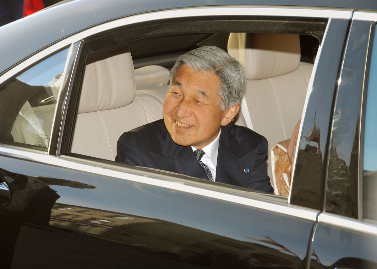 For the first time in 200 years, Japan's emperor abdicates