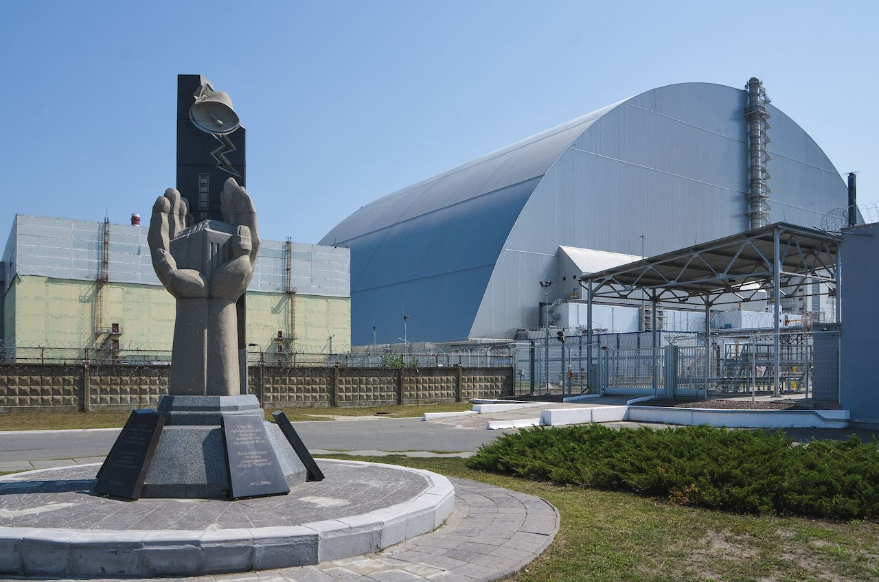 The New Safe Confinement shelter
