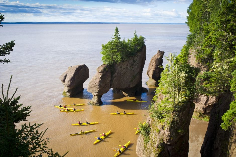 Tourism New Brunswick Hopewell Rocks Bay of Fundy