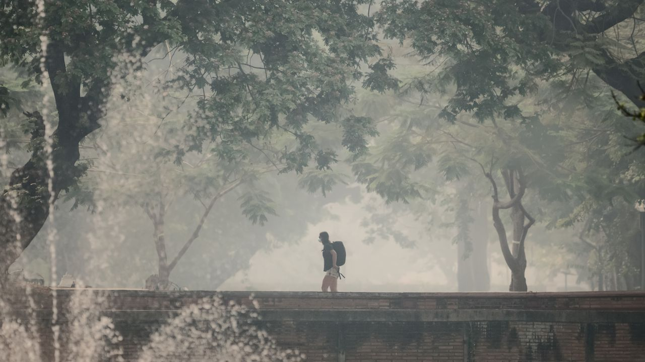When is smoke season in Thailand
