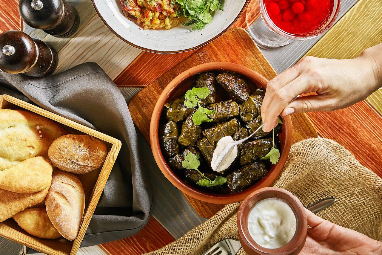 Traditional Turkish dolma