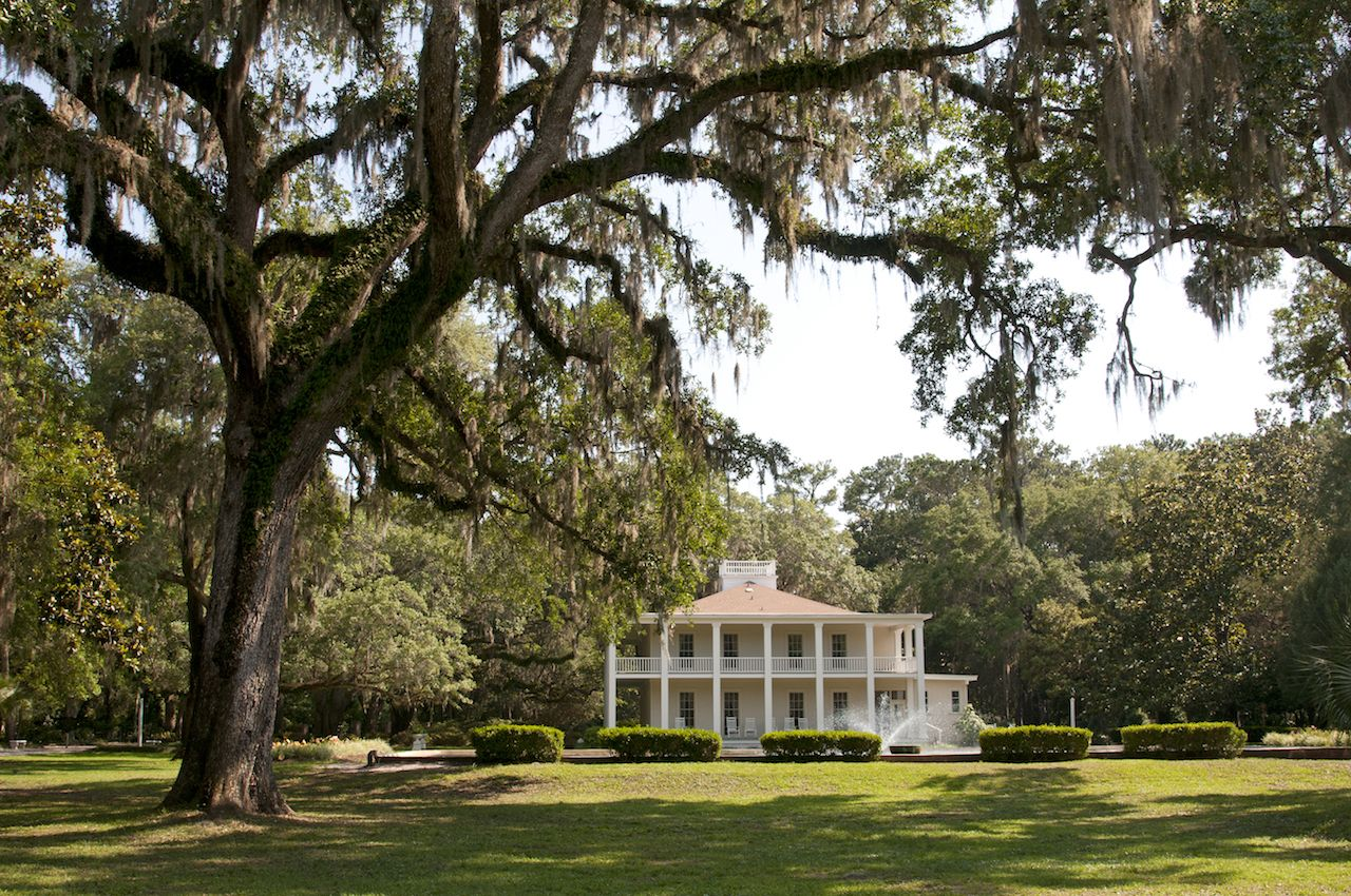 Wesley House in Eden Gardens State Park in Washington Point