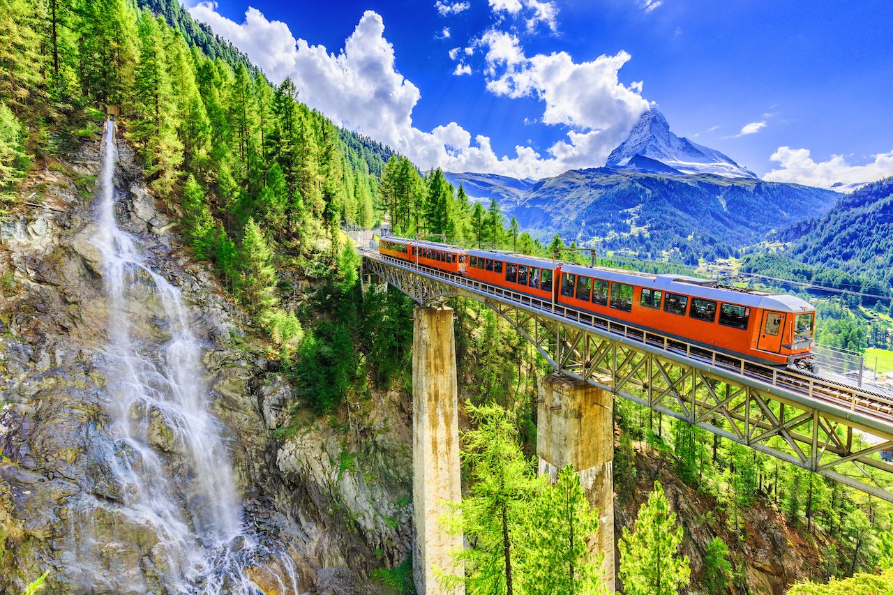 How to visit Switzerland by train