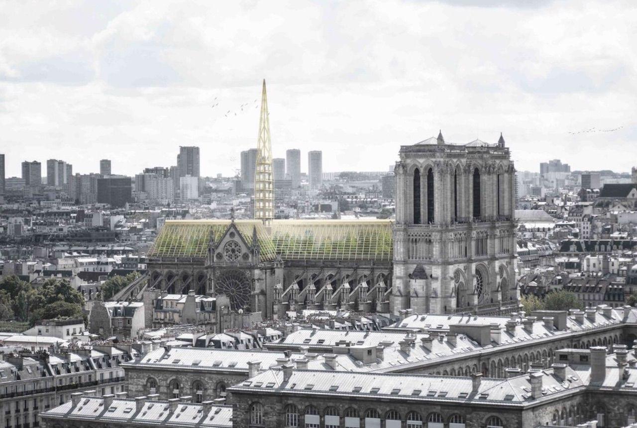 Notre Dame greenhouse design