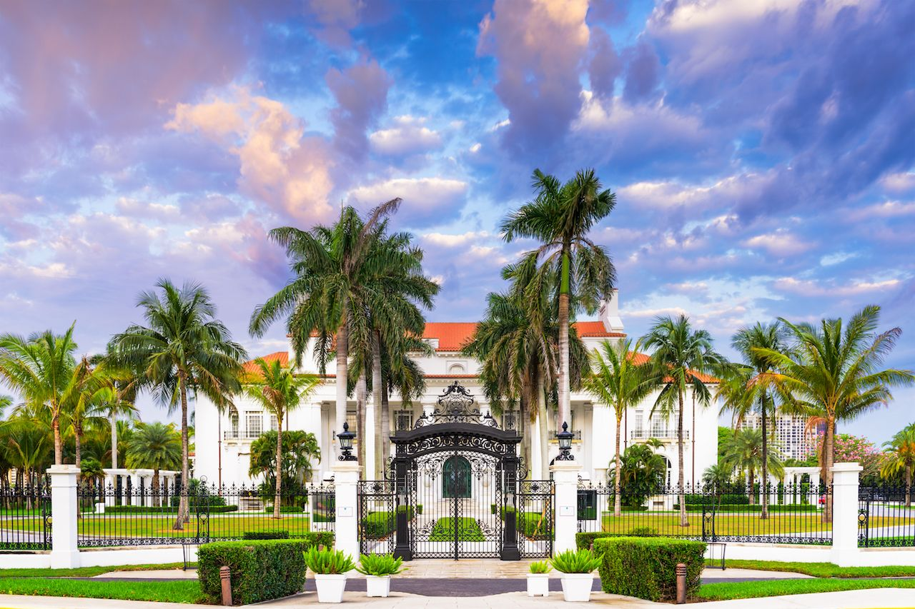 Gilded Age mansions in Florida