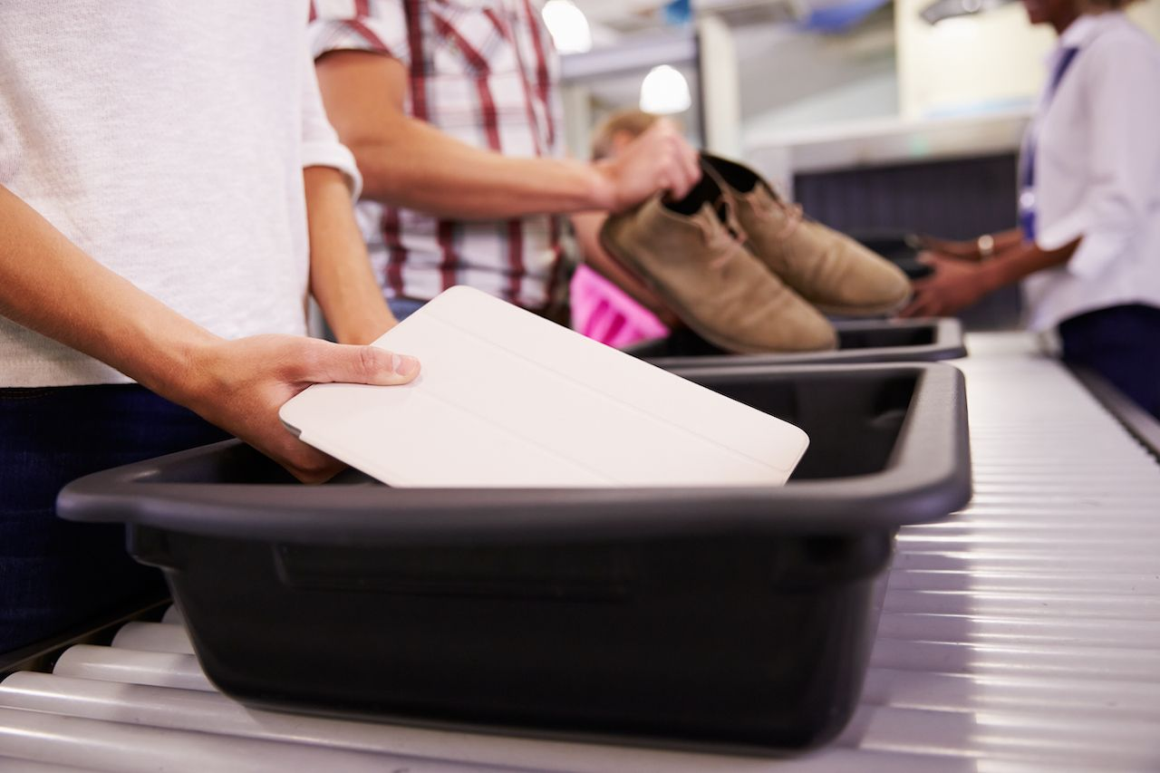 New TSA machines to detect laptops