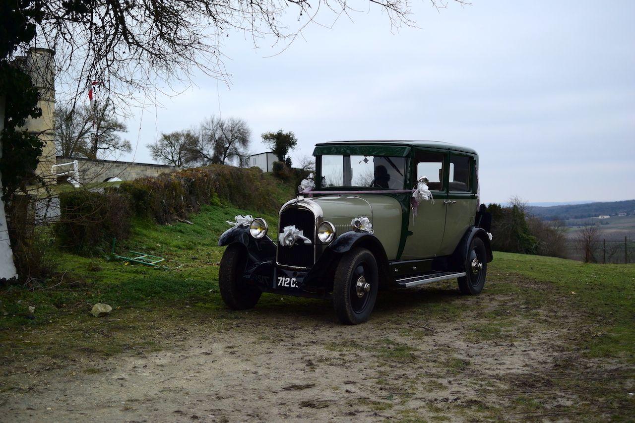classic car in France