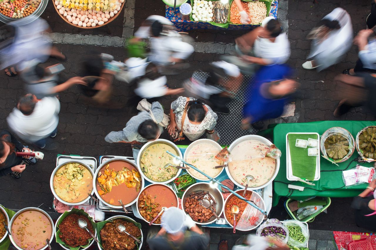 Bangkok street food frenzy