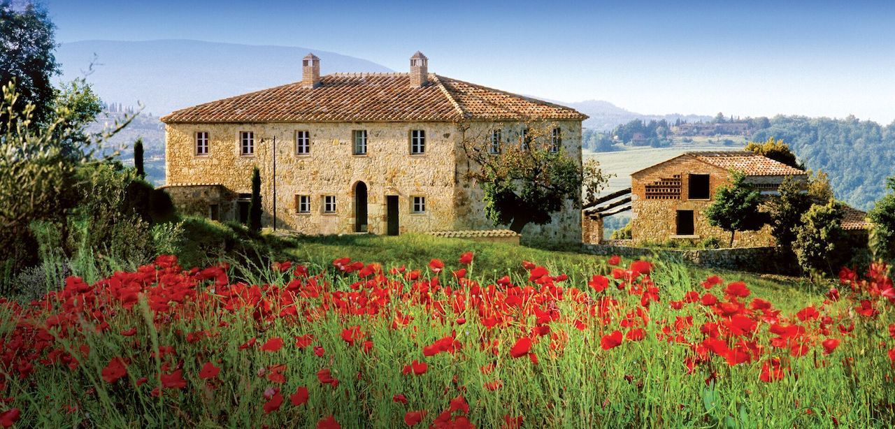 Beatiful vacation hom in the Italian countryside