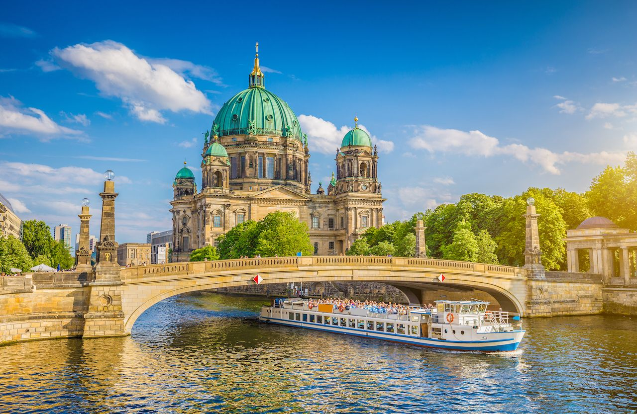 Beautiful view of Historic Berlin Cathedral