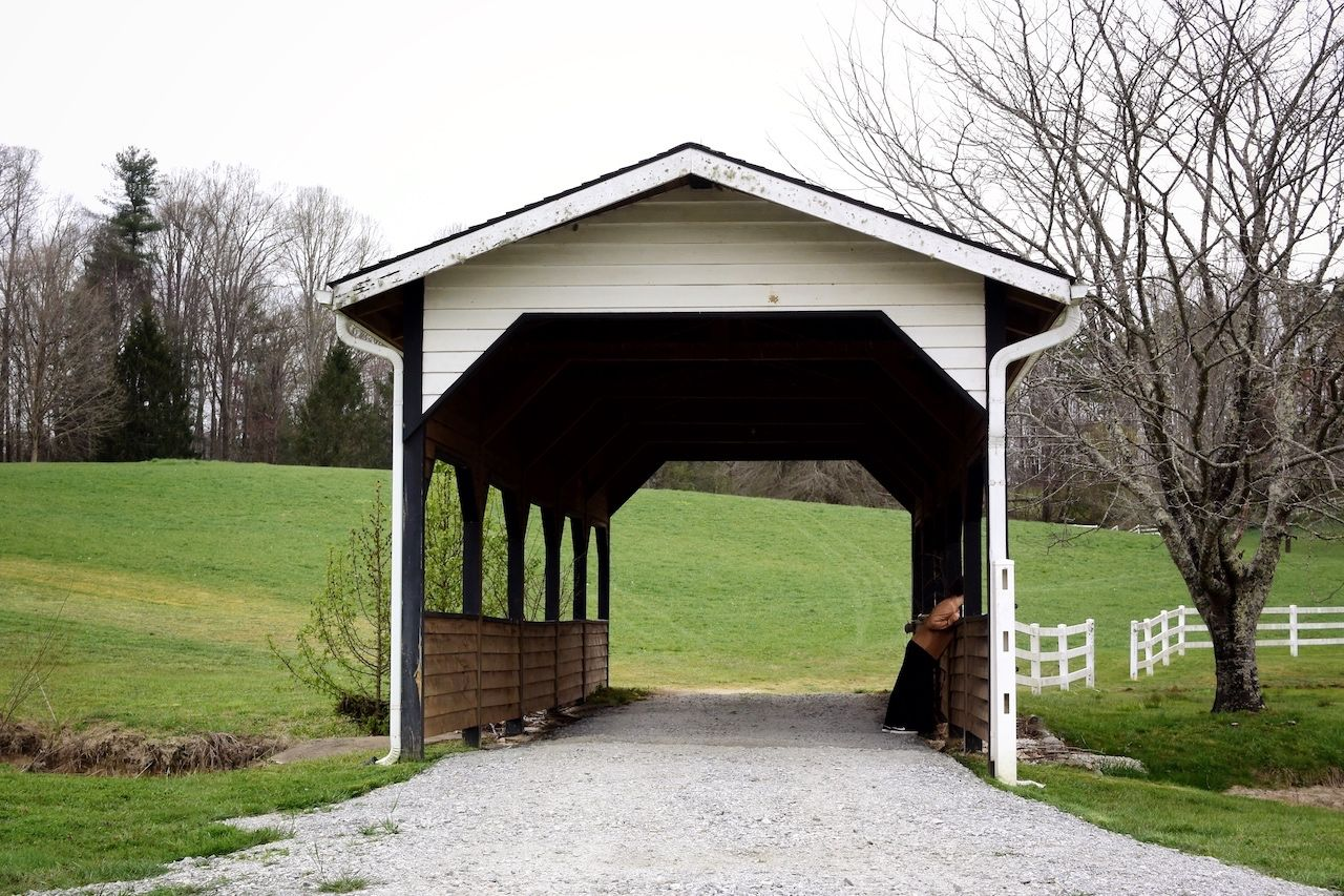 Bridge at Horse Shoe Farm