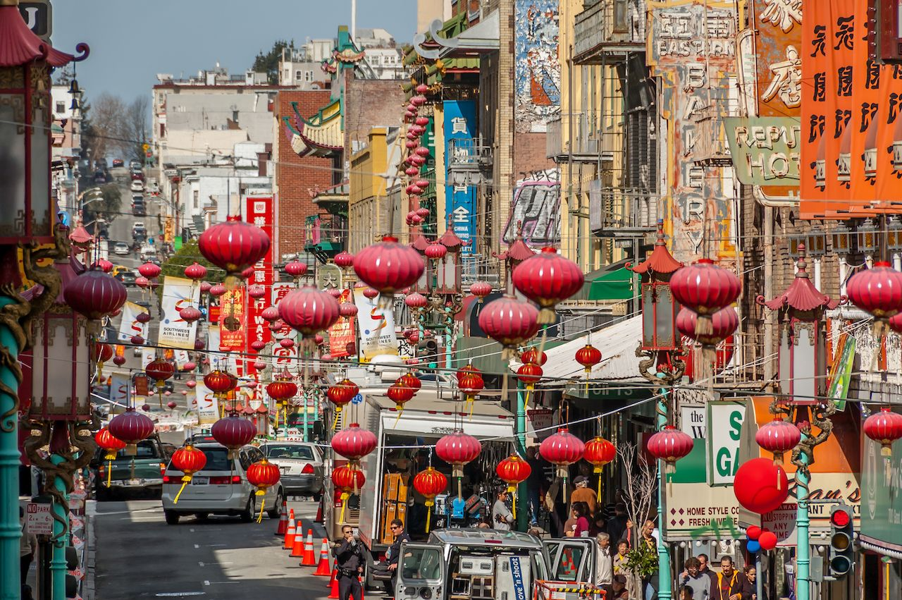Chinese New Year in San Francisco's beautiful China Town
