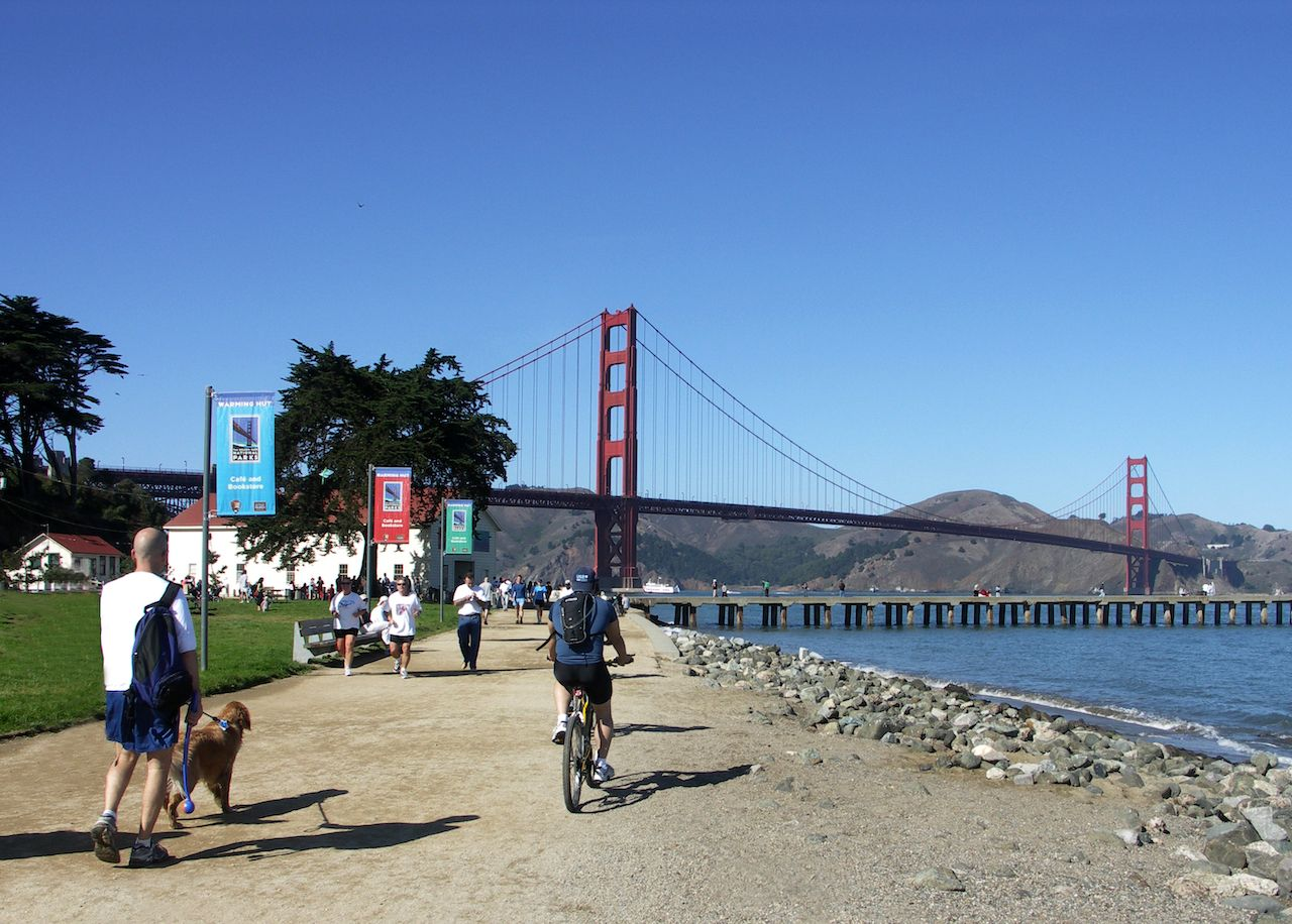 Crissy Field Park, Golden Gate, San Francisco