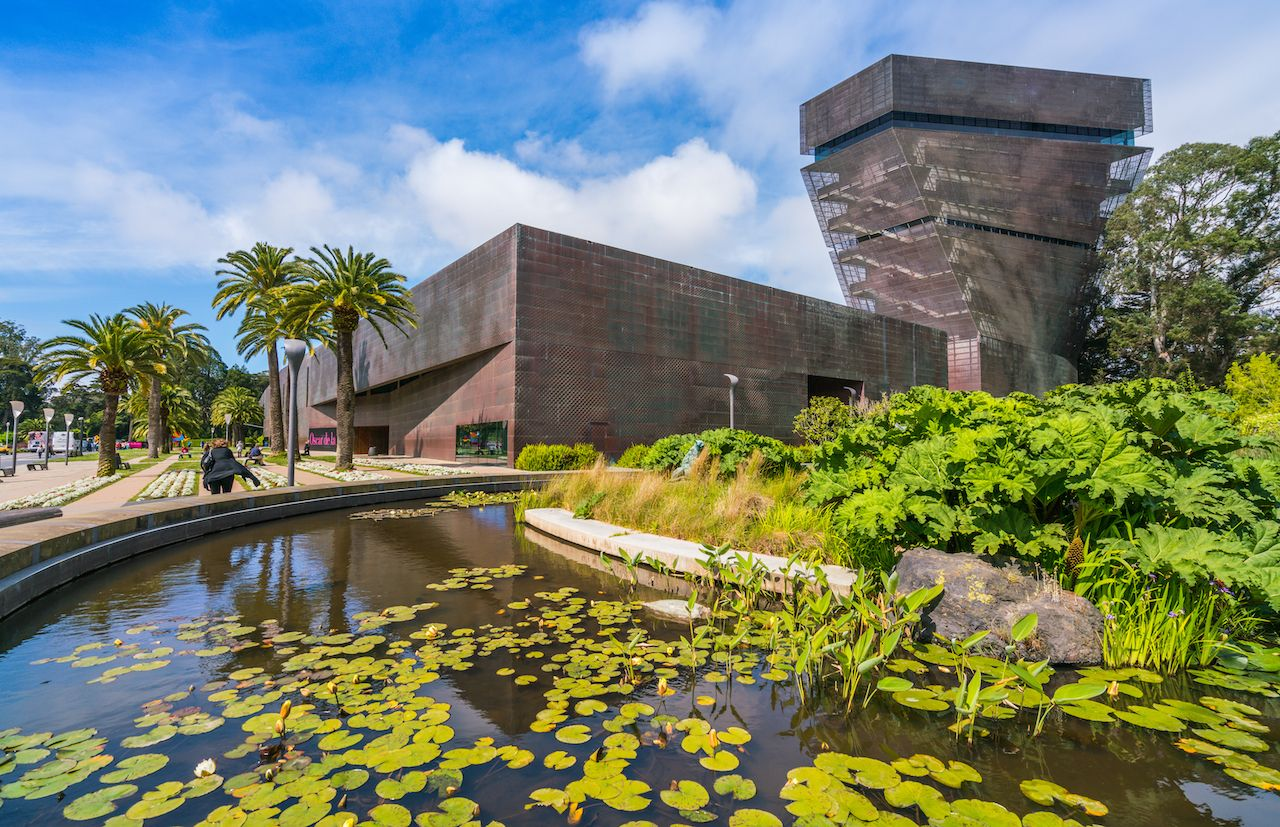 De Young art museum in SF