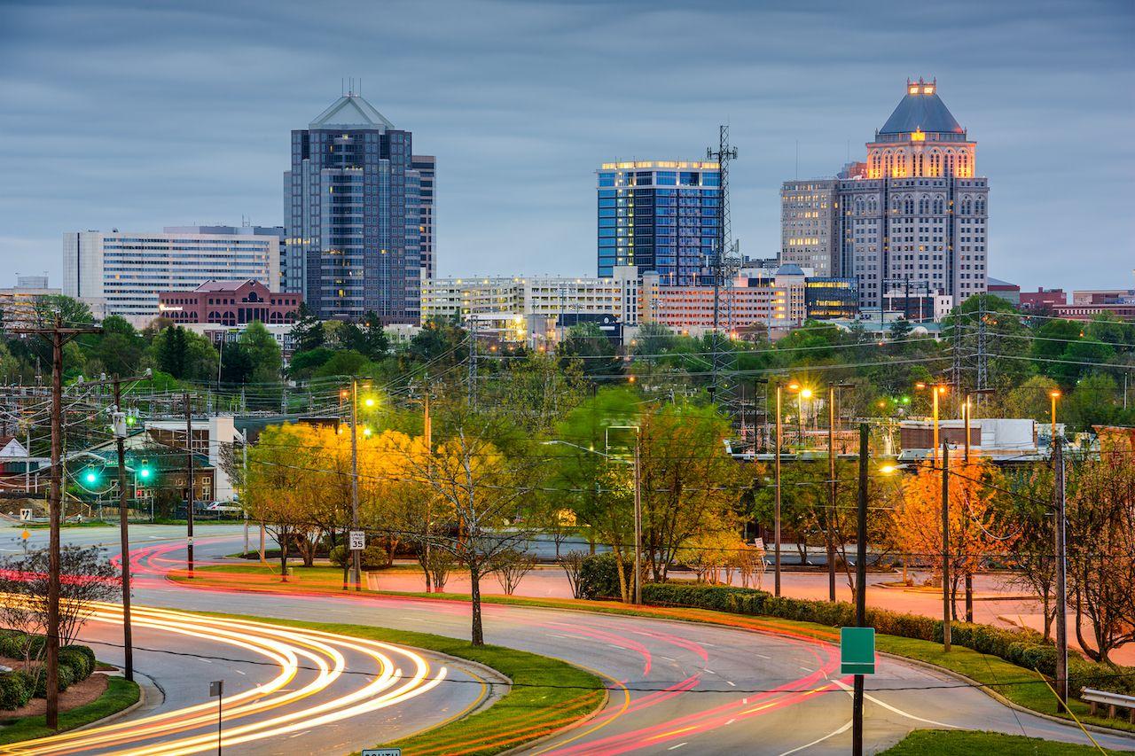 Downtown Greensboro, NC