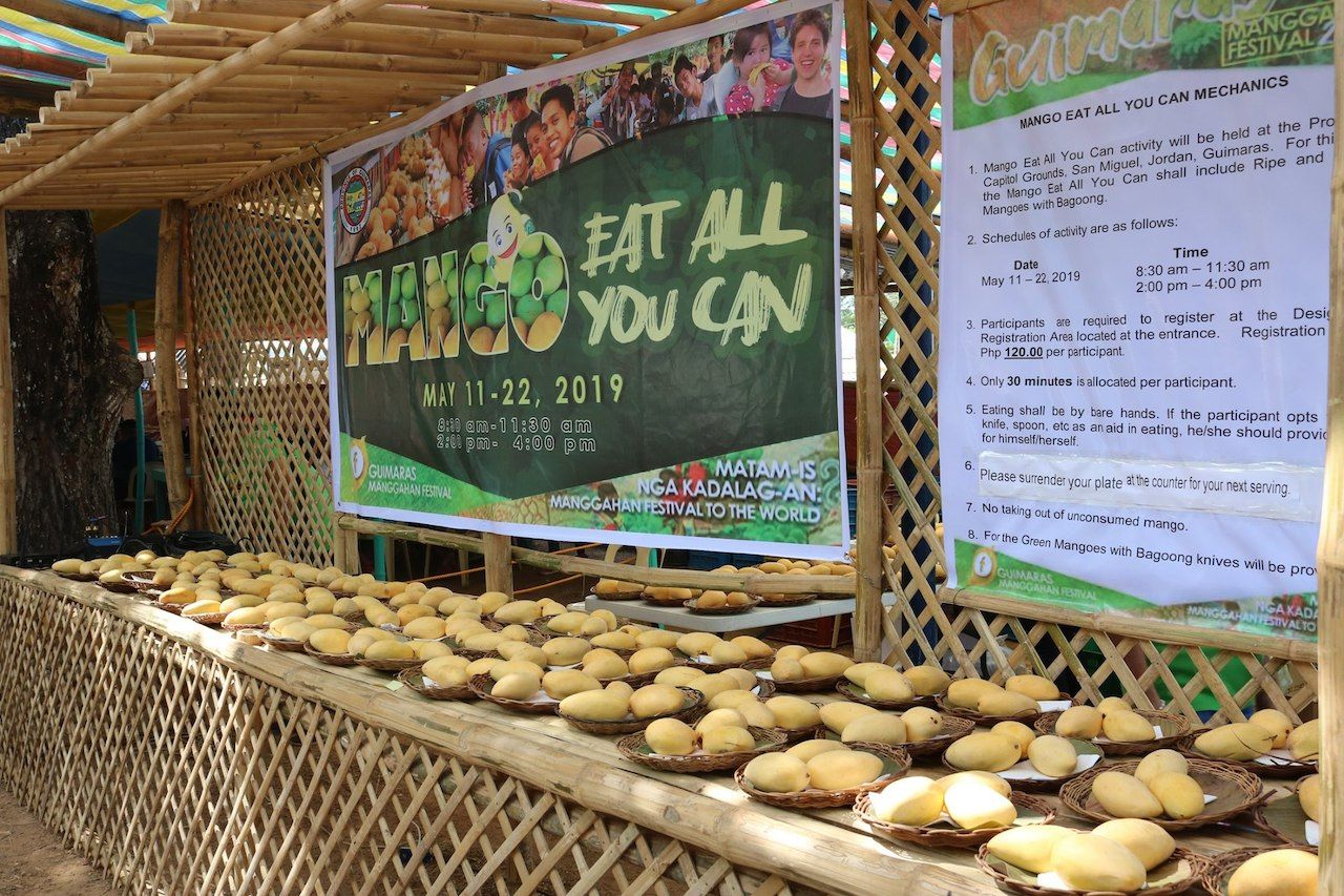 Eat All You Can contest at Guimaras Manggahan Festival