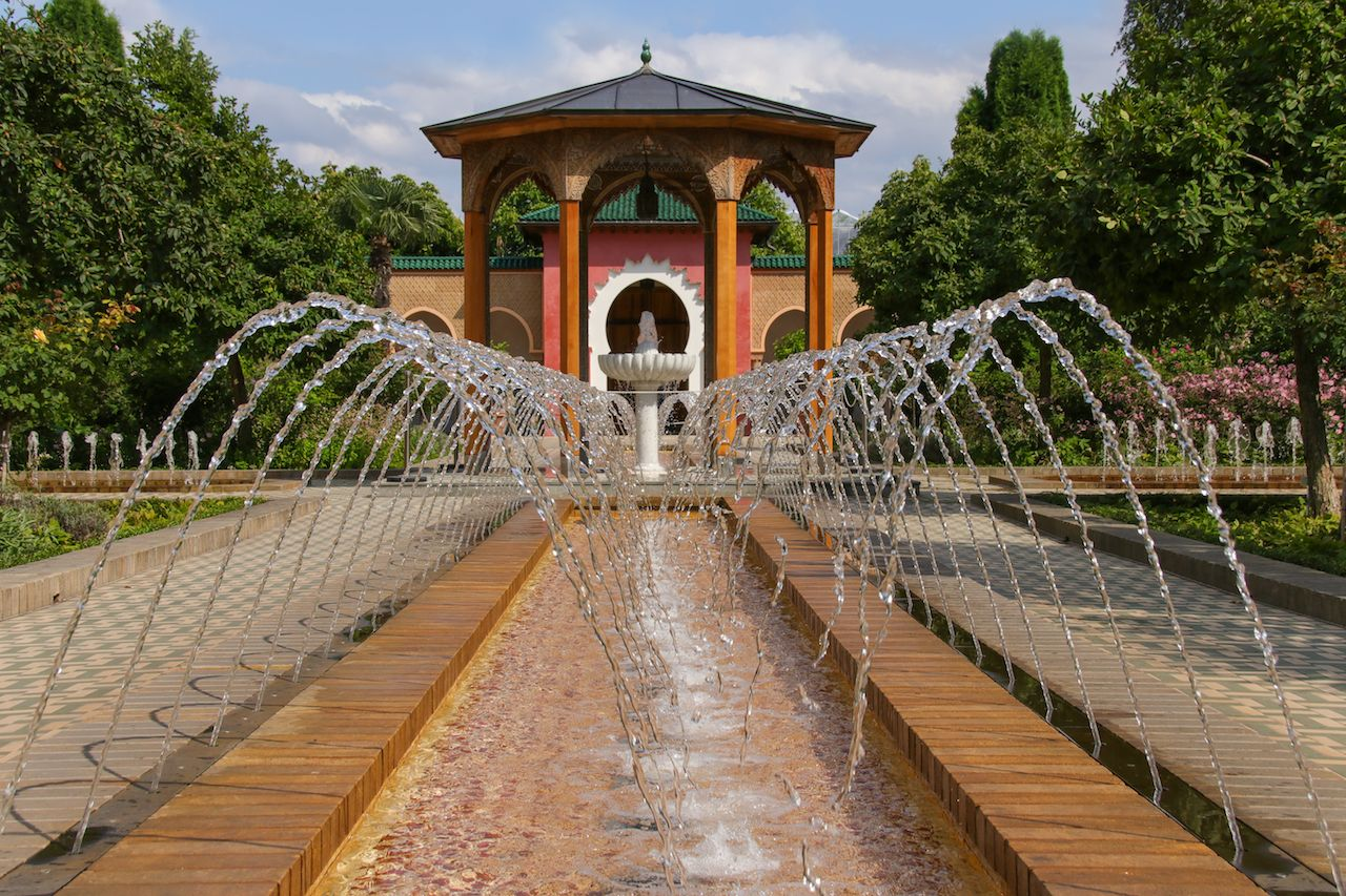Gardens of the world Marzahn Berlin, oriental garden