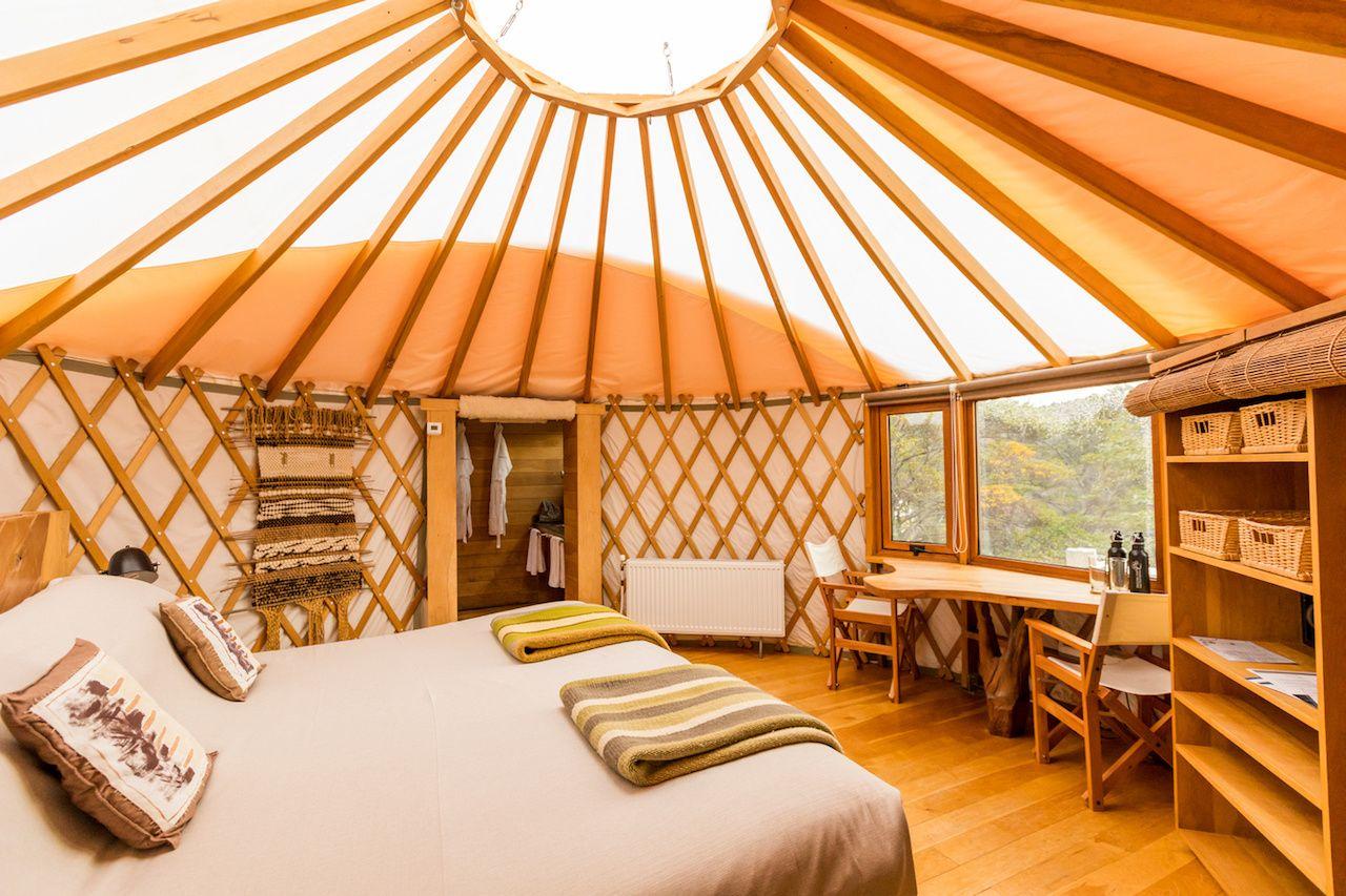 Glamping Yurt in Patagonia