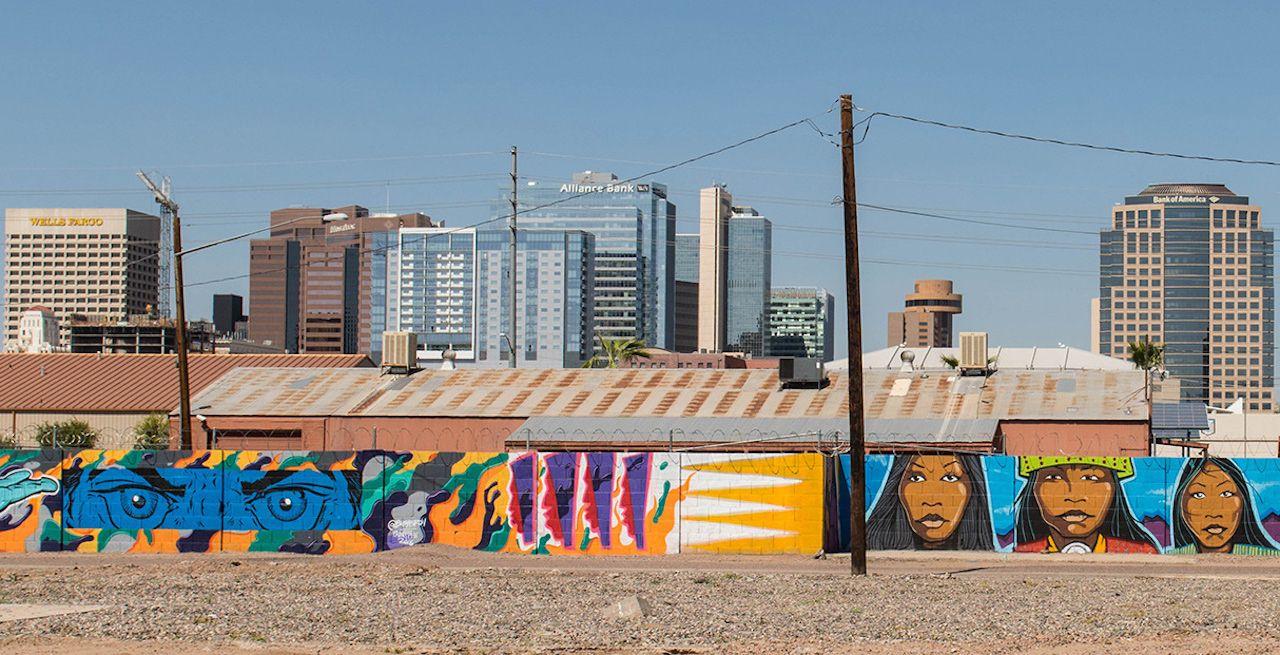 Graffiti mural in Phoenix