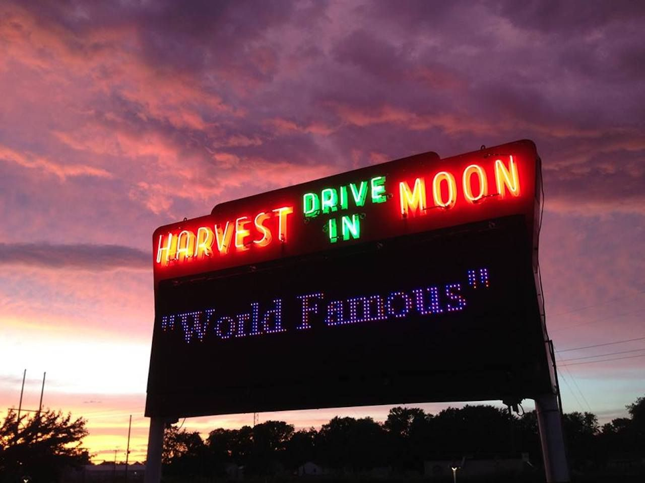 Harvest Moon Twin Drive-in Theatre