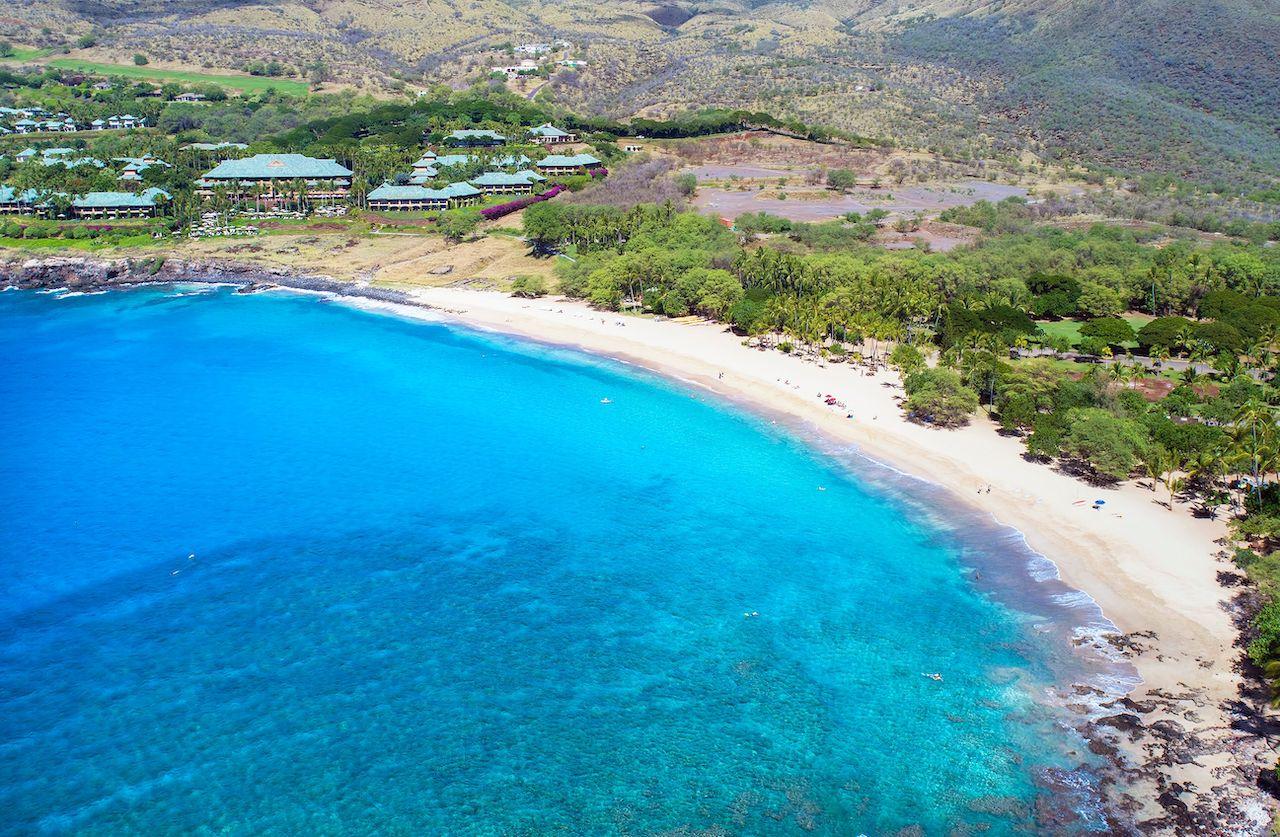 Hulopoe Beach Park, island of Lana'i, Hawaii