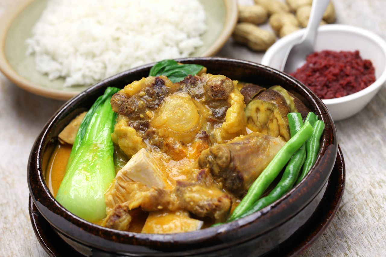 Kare kare, Filipino Oxtail Stew