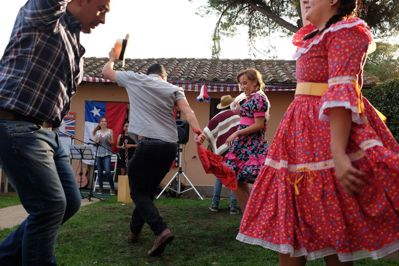 La Cueca Chiloe, the typical Chilean dance