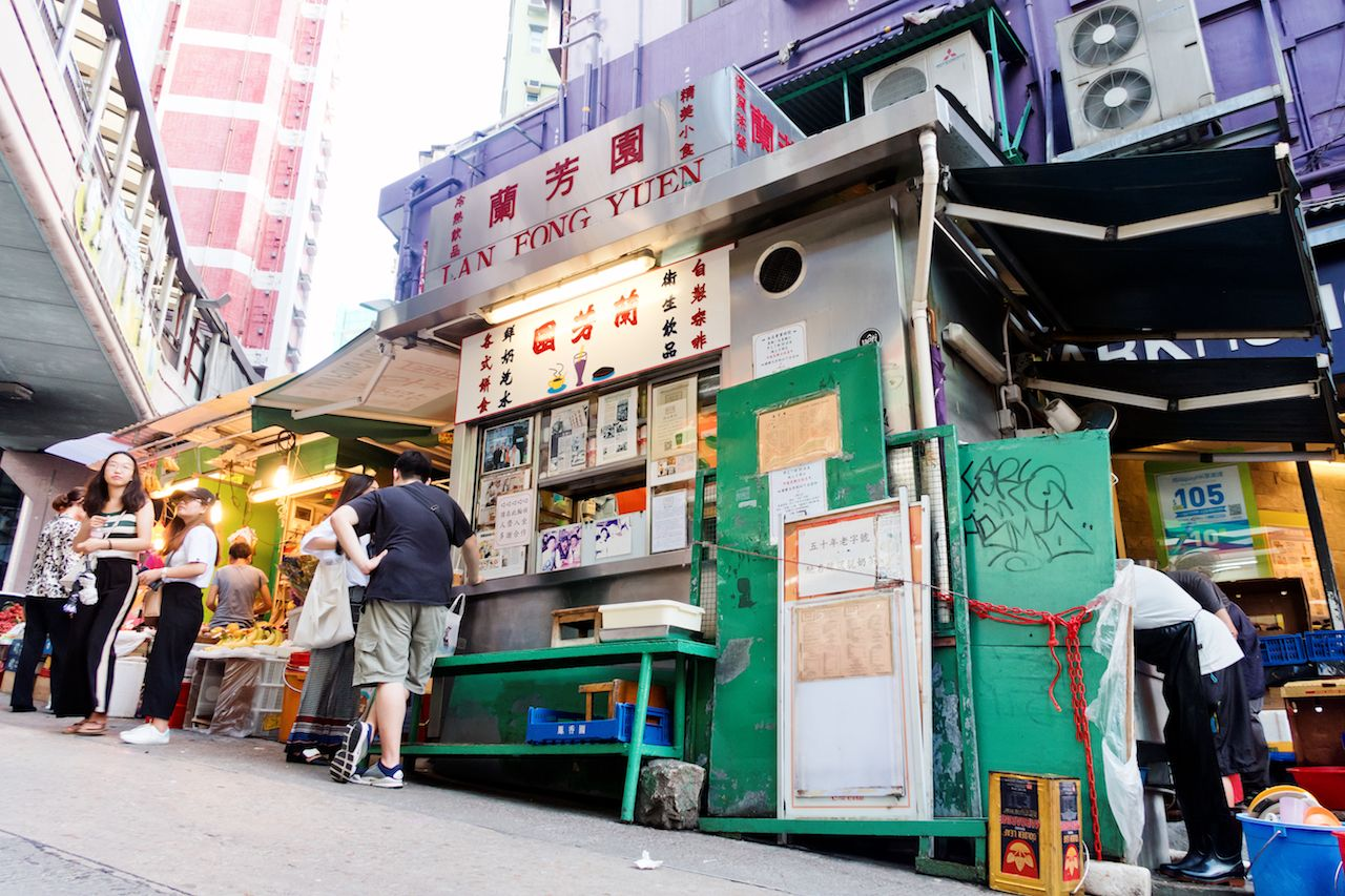 Lan Fong Yuen is now one of Hong Kong's most historic restaurants