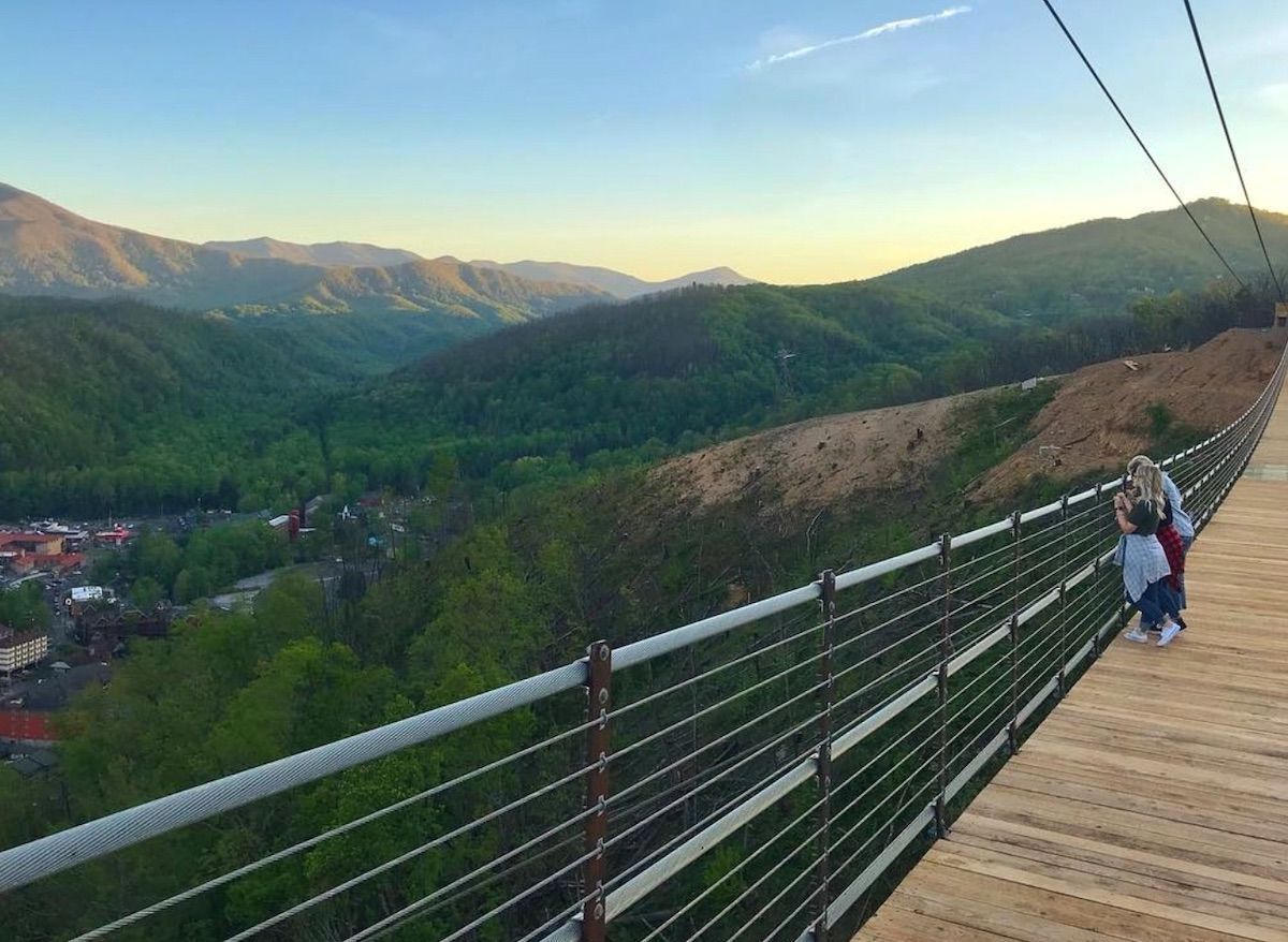 The longest pedestrian suspension bridge in North America is opening in Tennessee