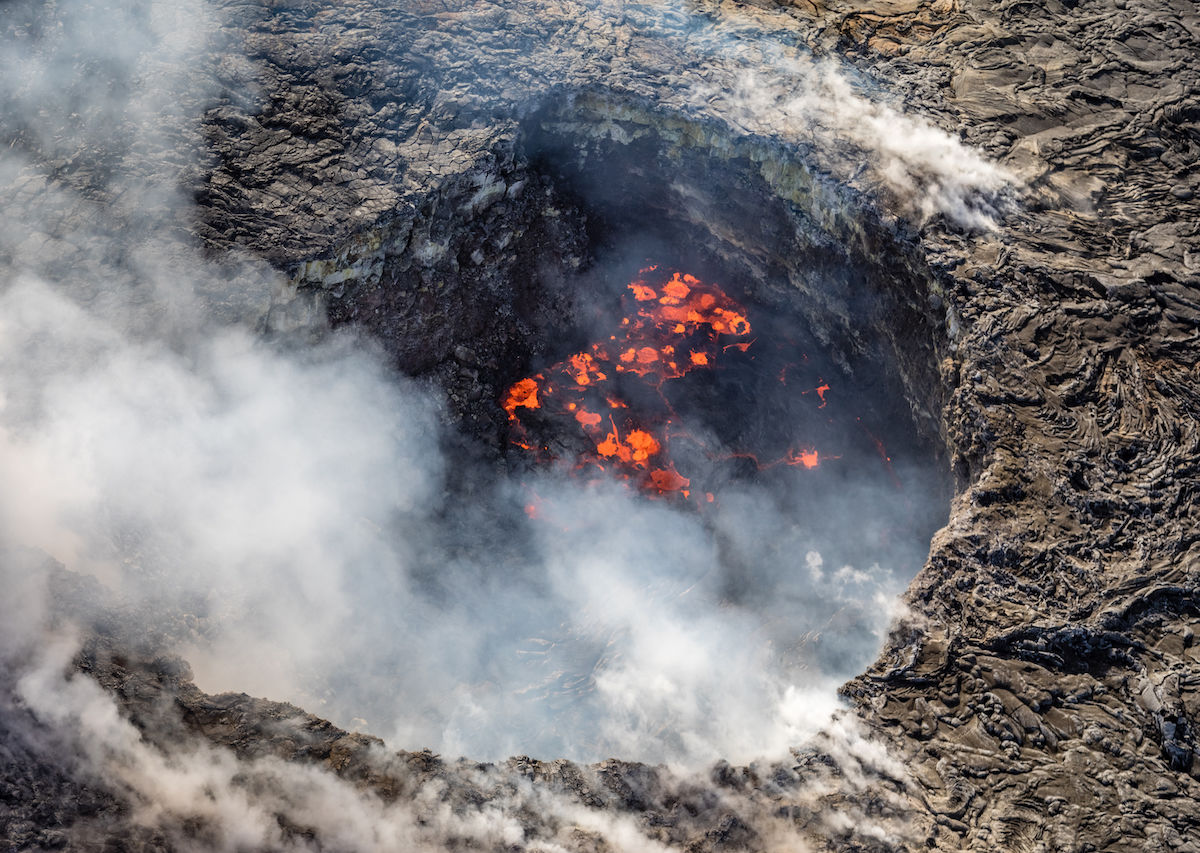 Man falls 70 feet into Hawaiian active volcano after jumping a safety barrier