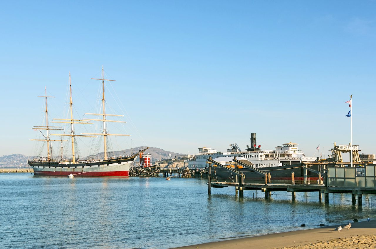 Maritime National Historical Park in SF