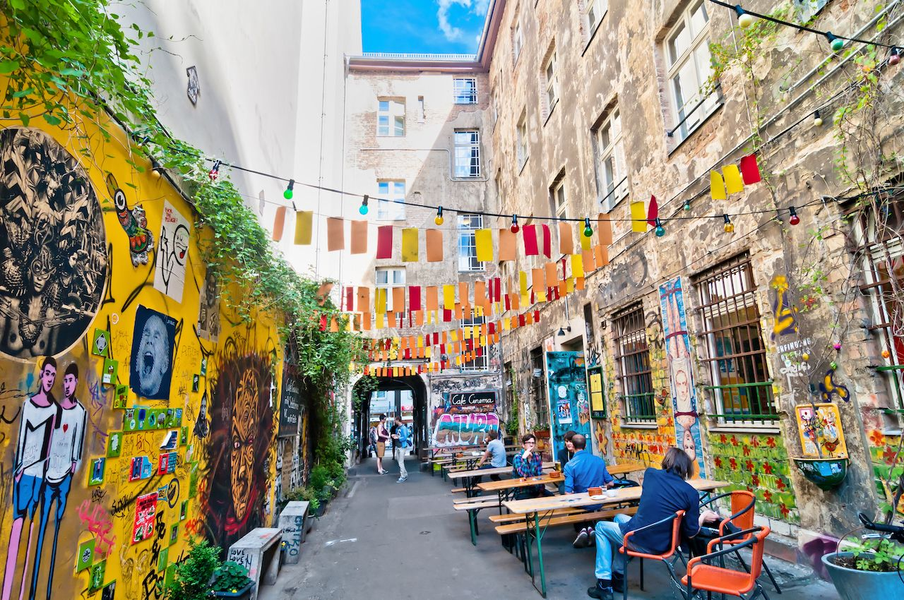Mitte district in Berlin, Germany