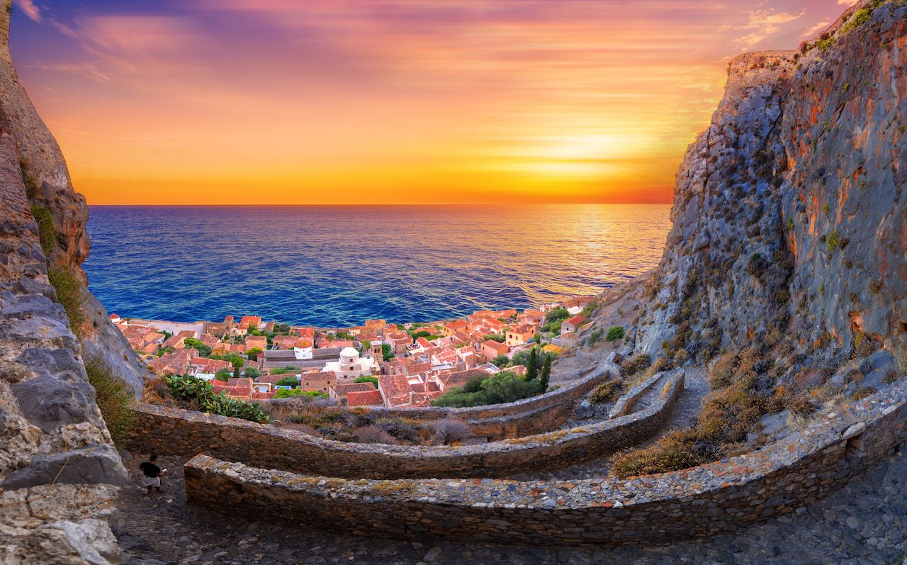 Monemvasia, often called The Greek Gibraltar