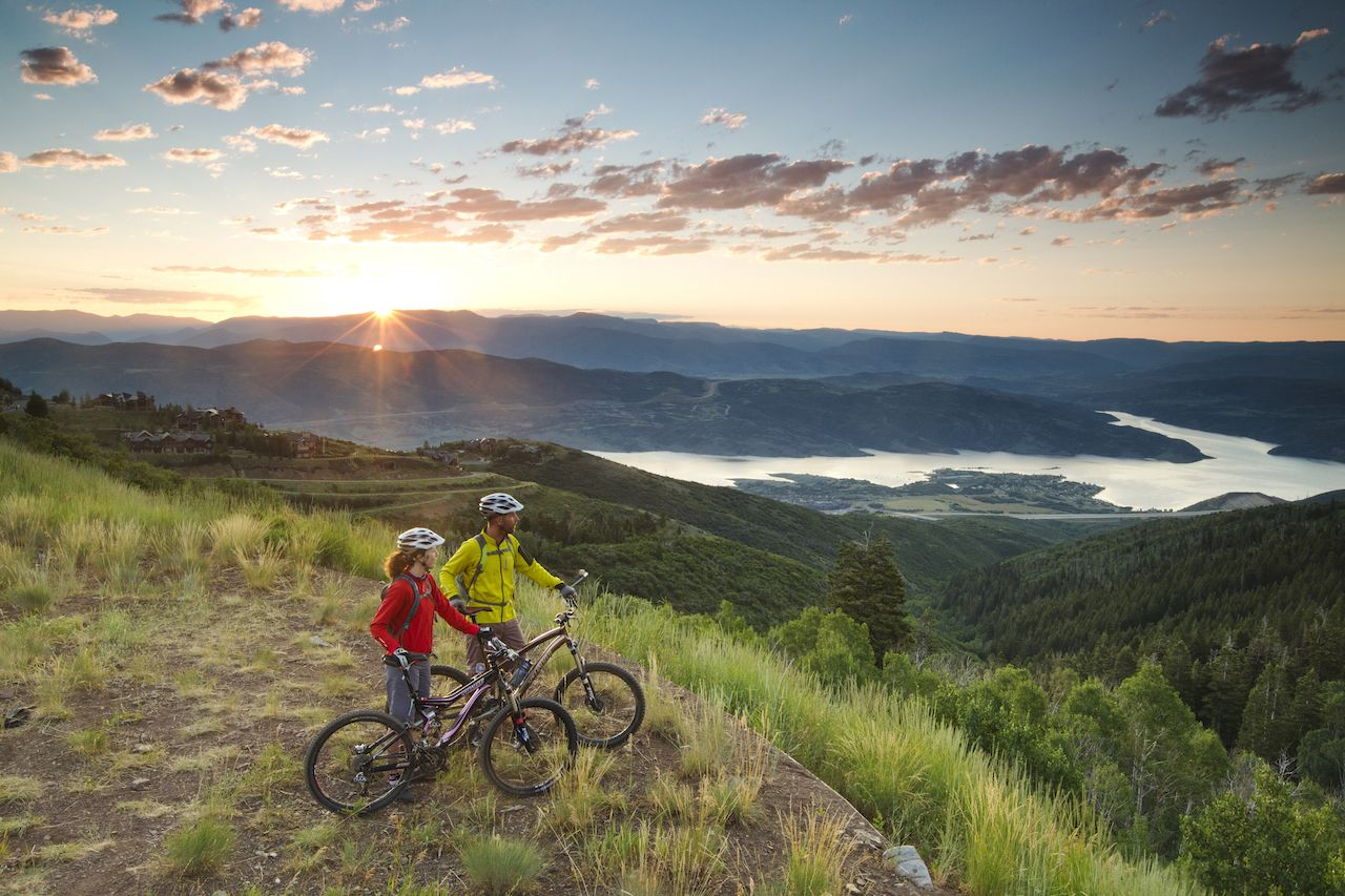 Mountain Biking Deer Valley Resort