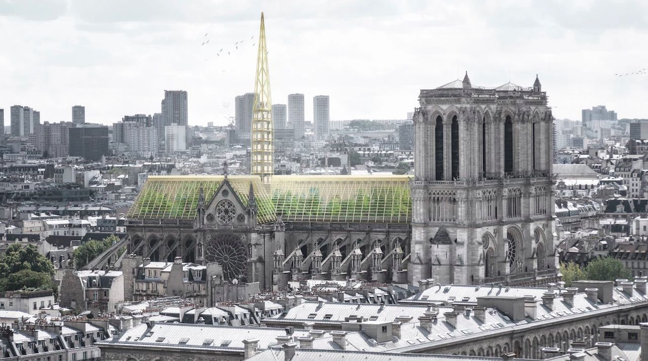 Notre Dame greenhouse roof redesign proposal