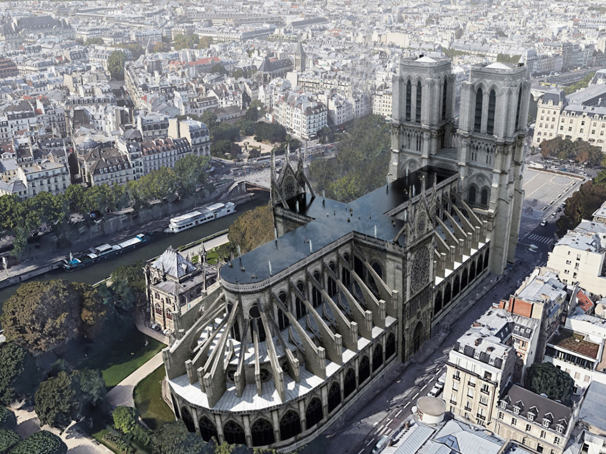 5 crazy, amazing, and grandiose designs proposed for rebuilding Notre Dame's roof