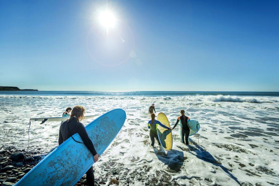 Nova Scotia Atlantic Canada surfing