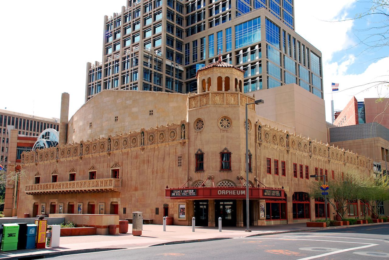 Orpheum Theatre in Phoenix, Arizona