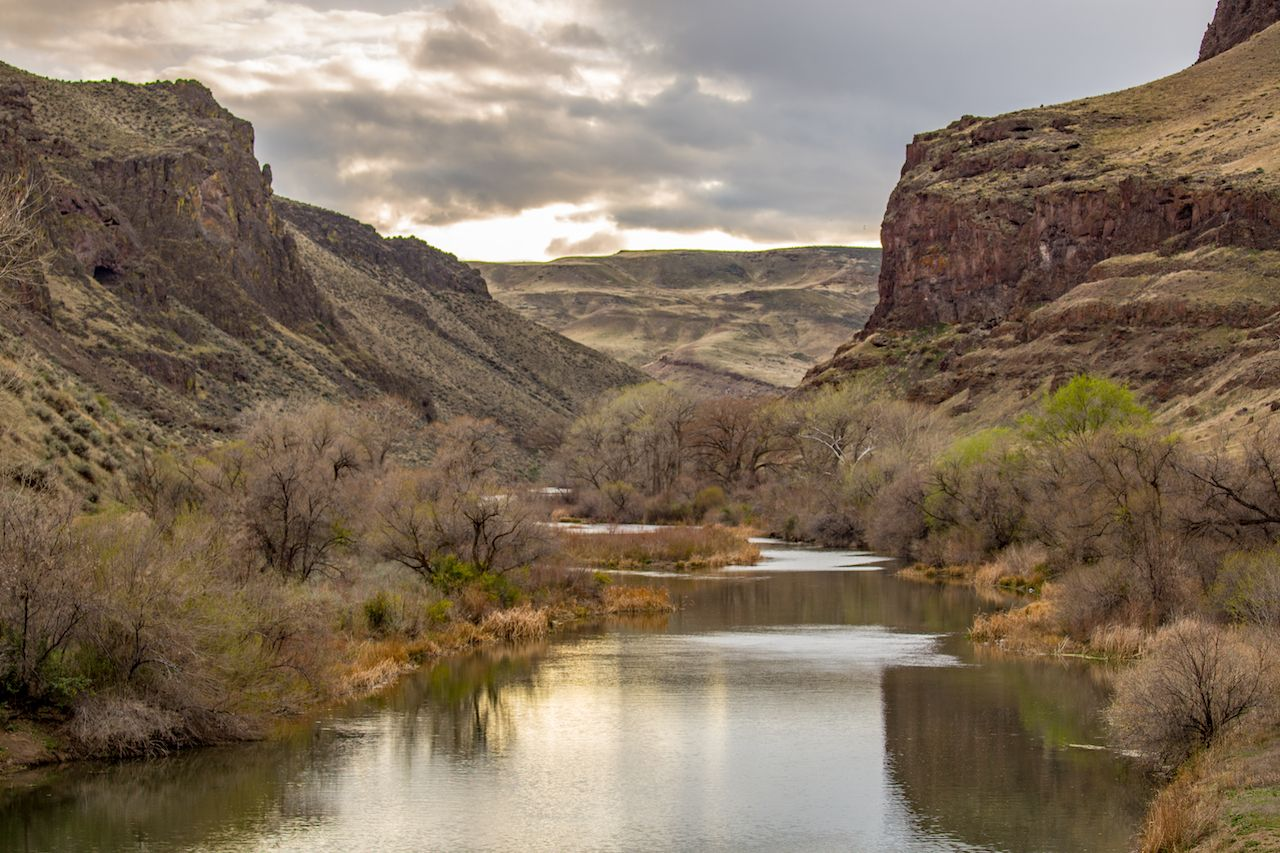 Owyhee River canyon, Oregon