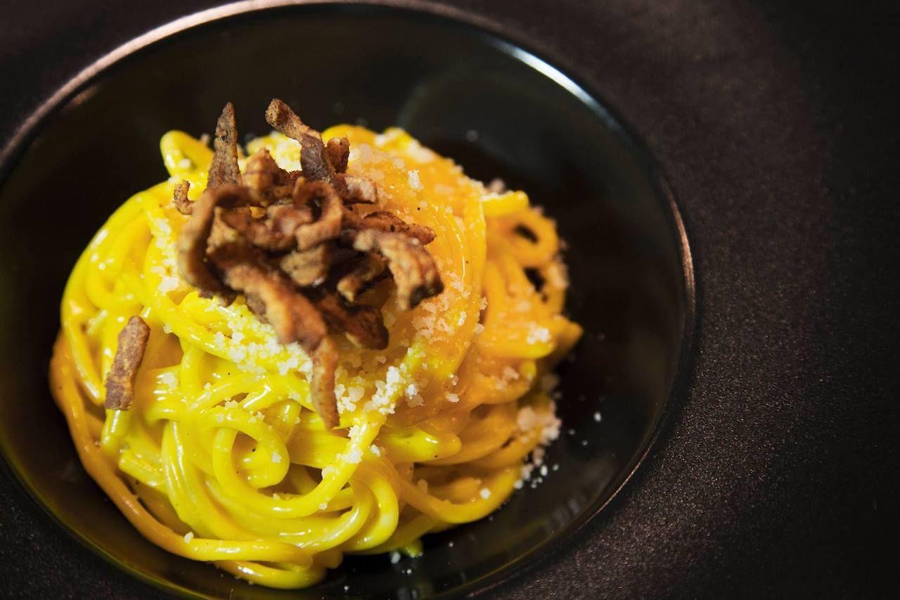 Pasta from Osteria Nuvolari, Italy