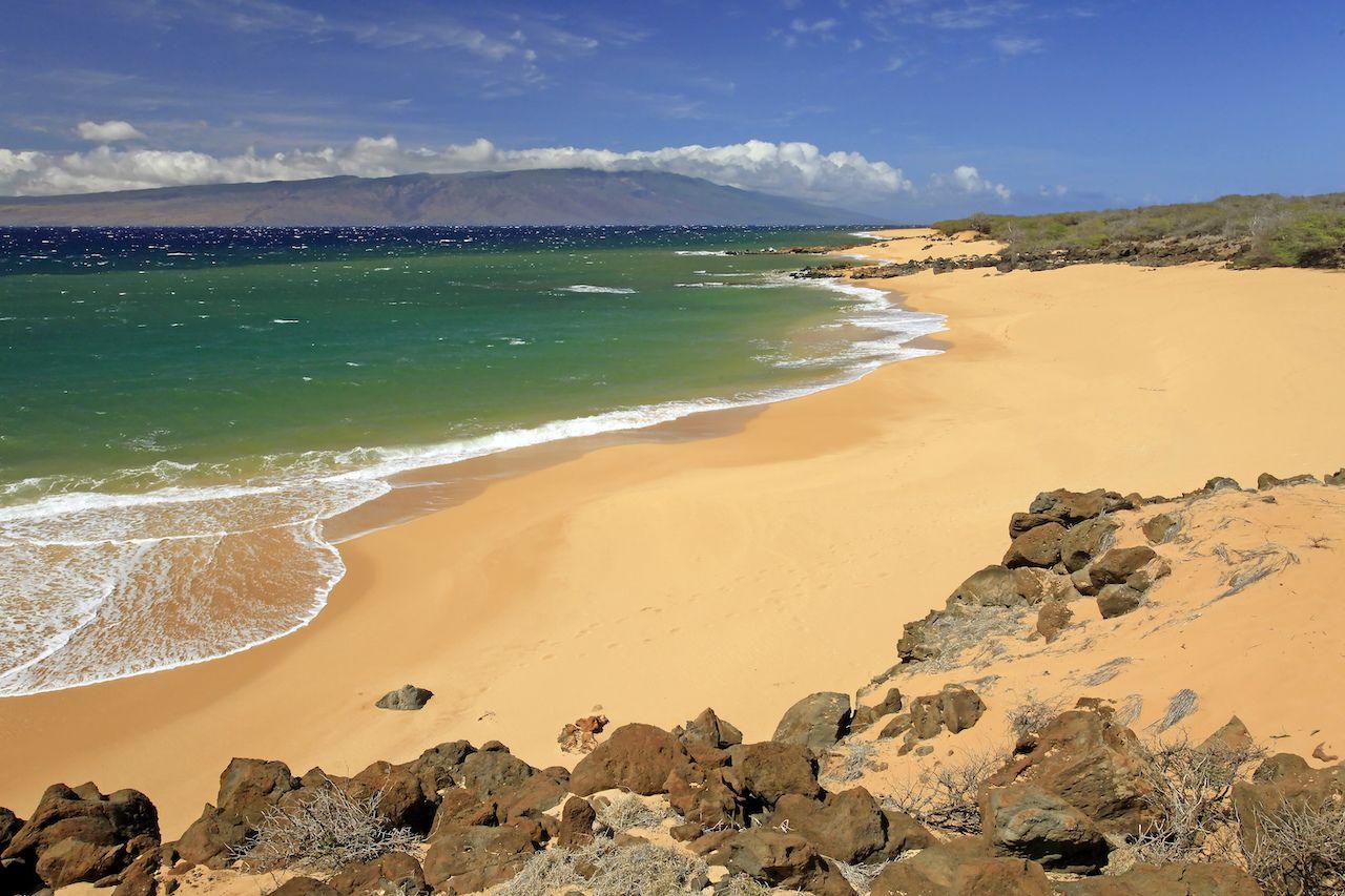 Polihua Beach on Lanai, Hawaii