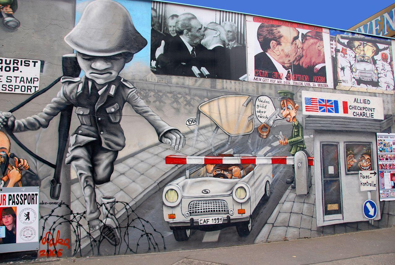 Political street art in Berlin