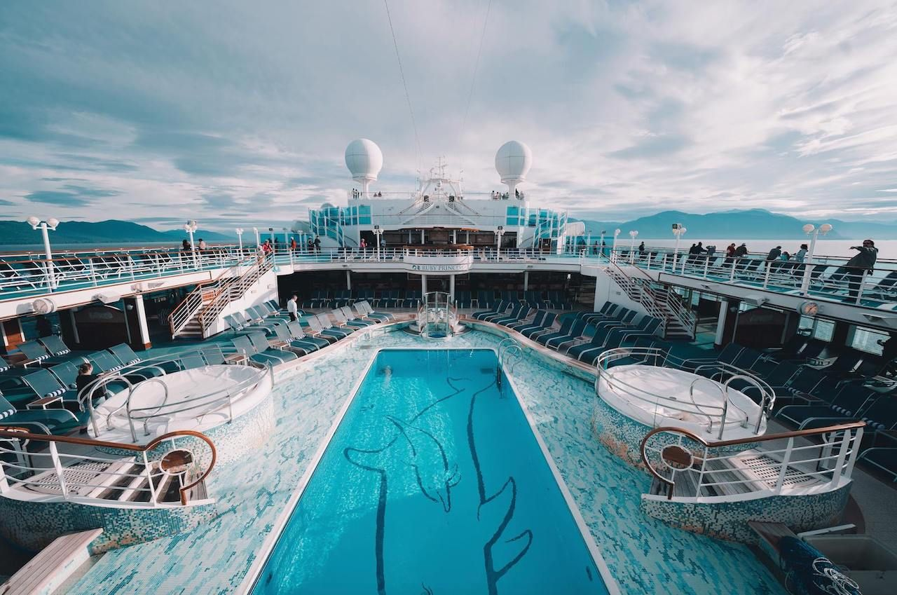 Princess Cruises ship