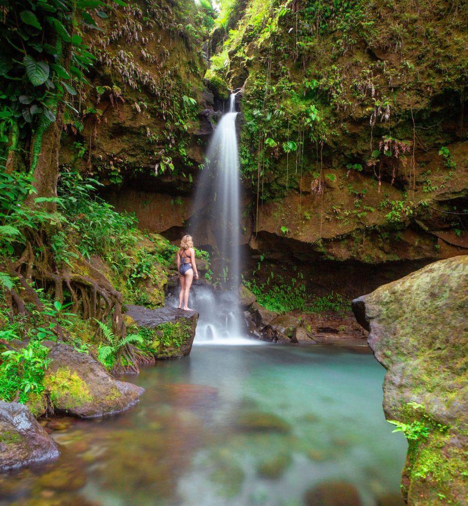 Scott Sporleder - Dominica Stills- waterfalls
